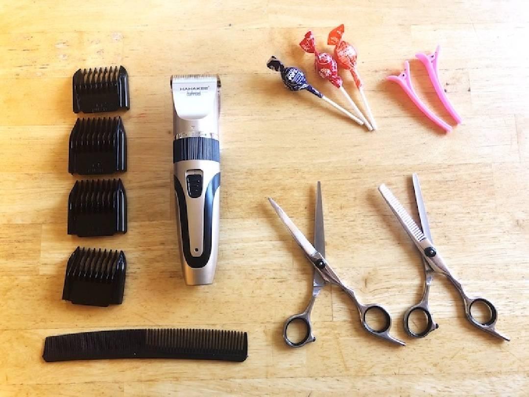 couper cheveux maison